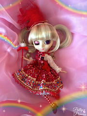 Lets Paint the Town Rainbow! (Pullipprincess) Tags: pink cute sparkles colorful doll dolls lolita ap kawaii groove pullip rainbows pullips angelicpretty junplanning jpgroove grooveinc prupate pullipprupate