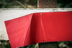 Kapot (MJ Klaver) Tags: broken fence 135mm sonnar bitchesbrew czj carlzeissjena primelens oldlens ausjena manualfocuslens carlzeissjenasonnar135mmf35 happyfencedfriday ddrlens carlzeissjenasonnar135mmf35mcred