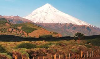 Volcan lanin,parque nacional homonimo,provincia neuquen,patagonia Argentina