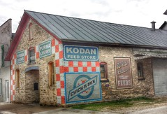 Kodan Feed Store- Algoma WI (1) (kevystew) Tags: wisconsin ad advertisement algoma kewauneecounty kodanfeedstore