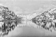 Tshangu Lake, Sikkim (Yogendra174) Tags: lake snow mountains reflections himalaya sevensisters sikkim northeastindia tshangulake