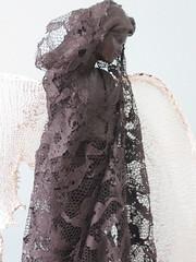 """"""" ANGEL """" (zaazaa777) Tags: wood canada photography ceramics lace powertex"""