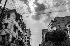 """Not everyone is meant to be in your future. Some people are just passing through to teach you lessons in life."" (IvanPhoto*) Tags: sky people blackandwhite cloud white black animal cat 35mm buildings fur happy nikon gloomy gothic meow dhaka 1855mm rickshaw tough bangladesh dlsr hardship carefee travelbangladesh bestoftheday d5200 adrorable"