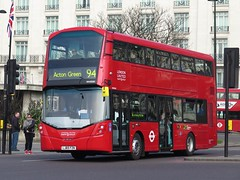 First Day of Service - London United VH45156 Volvo B5LH w/Wright Gemini 3 LJ65FZN on Route 94 (FF3170) Tags: arch marble