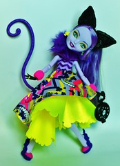 Kitty Cheshire - Way to Wonderland (Big-Eyed) Tags: way high doll dolls cheshire kitty collection after wonderland ever mattel evere everafterhigh everafterhig