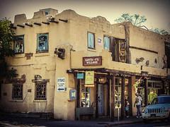 Santa Fe Village (grace.aries) Tags: usa newmexico santafe west america village pueblo oldtown nikoncoolpixp520