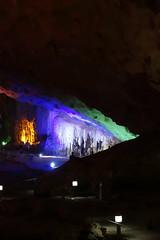 Looking across the largest cavern (koukat) Tags: cruise classic bay long iii vietnam surprise cave ha hanoi sot sung bhaya