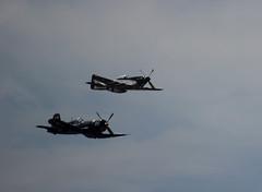 World War II & Korean War Fighters (California Will) Tags: navy corsair mustang 1945 p51 armyaircorps f4u vought