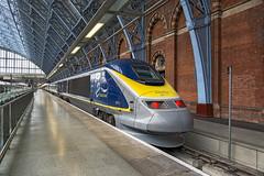3015 St Pancras (Geoff Griffiths Doncaster) Tags: st speed train high eurostar international pancras 3015 eurostar3015