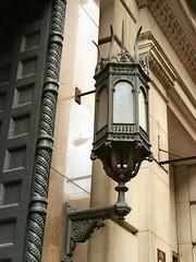 NYC_BDWY_830_001 (TNoble2008) Tags: lightingfixture 1896 materialmetal deepreveal materialmetalcast lightingfixturelantern ornamentropemolding architectcleverdonandputzel