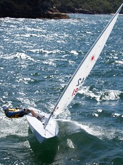 High speed (Val in Sydney) Tags: boat harbour sydney australia nsw bateau voilier australie