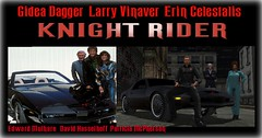 KNIGHT RIDER (caption) (Dag (Gidea Dagger)) Tags: sl edward davidhasselhoff parody tvshow recreation patricia mcpherson mulhare