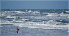 Mar bravo. (Totugj) Tags: naturaleza argentina mar nikon villa nikkor playas gesell ocano provinciadebuenosaires 55300mm d5100