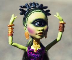 Bless Me Iris (bantambuell) Tags: iris doll cyclops mh fashiondoll monsterhigh monsterhighrepaint mhrepaint irisclops