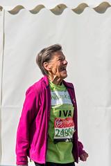 Iva Barr, London Marathon (Steve Swis) Tags: london marathon runner oldest 2016 ivabarr