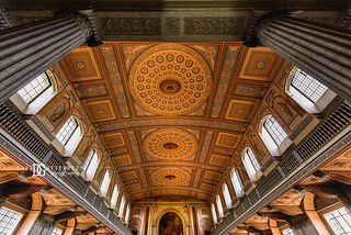Chapel of St Peter and St Paul, Old Royal Naval College, Greenwich, London, UK