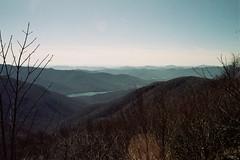 untitled (inafreeland) Tags: trees film nature 35mm landscape nc northcarolina hills blueridgeparkway appalachianmountains mountmitchell kodakgold200 canoneoselan7e