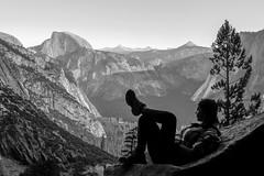 Chill (merylharumi) Tags: california winter mountains nationalpark hiking relaxing yosemite drought halfdome yosemitenationalpark sierras elcapitain sierranevada yosemitevalley highsierra sierranevadamountains cathedralrange