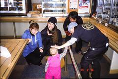 Gwen's admirers (Dan John Cumberland) Tags: snow japan mju slide olympus provia e6 hakuba