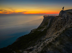 My freedom (dack993) Tags: sunset sea mountains landscape evening