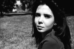 Sara | film | 2016 (Luca Scarpa) Tags: portrait blackandwhite bw film 35mm bn ilford biancoenero