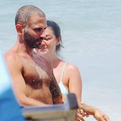 IMG_1159 (danimaniacs) Tags: shirtless hairy man hot sexy guy beach pecs beard stud scruff