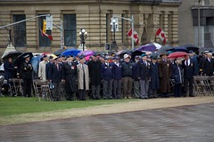 Veterans at the Battle of the Atlantic ceremony on Parliament Hill (Mark Blevis) Tags: ottawa wwii ceremony parade atlantic parliamenthill battleoftheatlantic