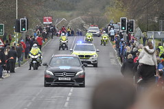 _DSC2130 Waiting for the Tour de Yorkshire (petelovespurple) Tags: people cars cycling waiting candid yorkshire police bikes flags northyorkmoors motorbikes northyorkshire 2016 a170 kirkbymoorside ryedale tourdeyorkshire