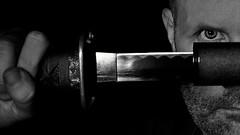 (Donald Palansky Photography) Tags: me sony sword strobe alienbees strobist donaldpalansky sonyslta99v