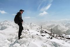 """"" (3500). . (dariamyasina) Tags: mountain snow mountains nature caucasus mountainside elbrus"