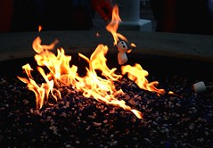 Marshmellow Roast (cathyharper71) Tags: hot fire sticks flames roast burn marshmellow roasting