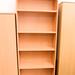 New beech laminate bookcase