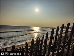 @carlide85 (Le Tranche sur Mer - Tourisme) Tags: ocean sunset mer holiday beach souvenirs la vacances soleil sable du souvenir sur plage puy fou vende ocan tranche latranchesurmer instagram