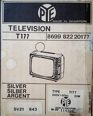 My #new #TV #pye #T177 #filmprop #filmmaking (Jon_Callow_Images) Tags: old television vintage square tv crt technology retro squareformat instructions manual tuner 1960 instagramapp uploaded:by=instagram