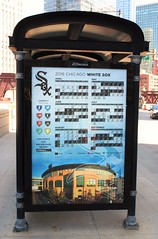 Chicago White Sox Schedule (Brule Laker) Tags: chicago baseball mlb americanleague chicagowhitesox
