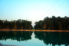(kaanatan) Tags: blue sky lake reflection love forest turkey nikon exposure peace special moment capture