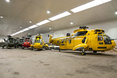 Ex RAF/RN Sea King's in Storage (Vortex Photography - Duncan Monk) Tags: sea rescue yellow search chopper king force air navy royal helicopter iconic heli raf commando helo rn seaking chf xz598
