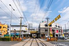 Shin-Imamiya / Osaka, Japan (yameme) Tags: travel japan train sony evil tram   osaka alpha  kansai    hankaitramway  streetsnap shinimamiya mirrorless  a6300 emount