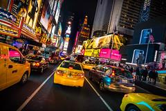 Time Square @NYC #4 (ppausb87) Tags: street nyc newyorkcity ny newyork yellow america nikon colorful colours unitedstates cab taxi unitedstatesofamerica yellowcab tokina gelb timesquare empirestate amerika coloured tokina1116 nikonflickraward nikond5300