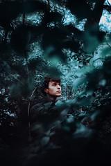 hearts like ours (2) (David Schermann) Tags: vienna blue boy man cold male face 35mm photography austria nikon emotion 14 sigma jungle emotional conceptual emotions prater d800