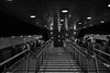DSC_0430 (Alexios_) Tags: street light people bw geometric stairs subway tubes