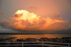 DSC_0378ret (Megansjester) Tags: sunset sea clouds port landscape rainbow pretty view australia darwin northern territory arcenciel australie