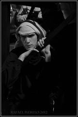 Costaleros (Guervs) Tags: blue sunset bw byn azul atardecer religion folklore tradition virgen palio viernessanto semanasanta jan ensayo goodfriday tradicin lent holyweek beda costaleros religin penas cofrada hermandad cuaresma parihuela sentencia
