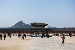The Palace (jjthibeau) Tags: blackandwhite architecture asian palace korea korean seoul southkorea palaces gyeongbok