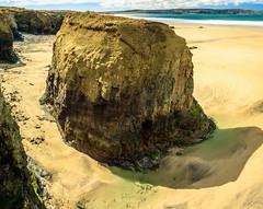 St Ives Bay (bertrandlamy) Tags: ocean longexposure sea sun mer seascape france clouds canon landscape soleil brittany bretagne exposition paysage bord couch longue 40d