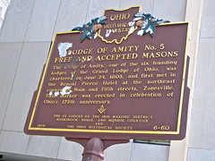Masonic Temple, Zanesville, OH (Robby Virus) Tags: ohio architecture temple historic masonic masons zanesville fraternal organization freemasons