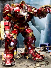 2015-Hot Toys Hulk-Buster Action Figures at SDCC-01 (David Cummings62) Tags: california ca comics movie actionfigure sandiego photos ironman calif figure movies marvel comiccon marvelcomics avengers cummings davidcummings hulkbuster davecummings