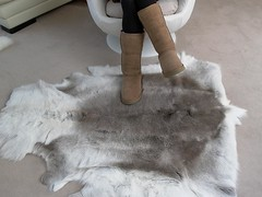Uggs on the Fur Rug (Uggling) Tags: feet socks fur reindeer boot sock shoes soft skin boots dirty deer rug sole uggboots uggs animalskin deerskin furrug animalrug uggaustralia furryrug animalskinrug skinrug softrug