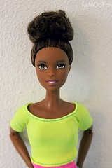Jailah   (JustADollFan) Tags: yellow doll barbie move made to tanned