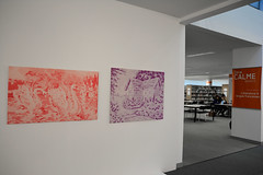 Paper Moon 07 (Bibliothque universitaire d'Angers) Tags: university library sophie bibliothque bu bua angers huri galerie5 universiaire